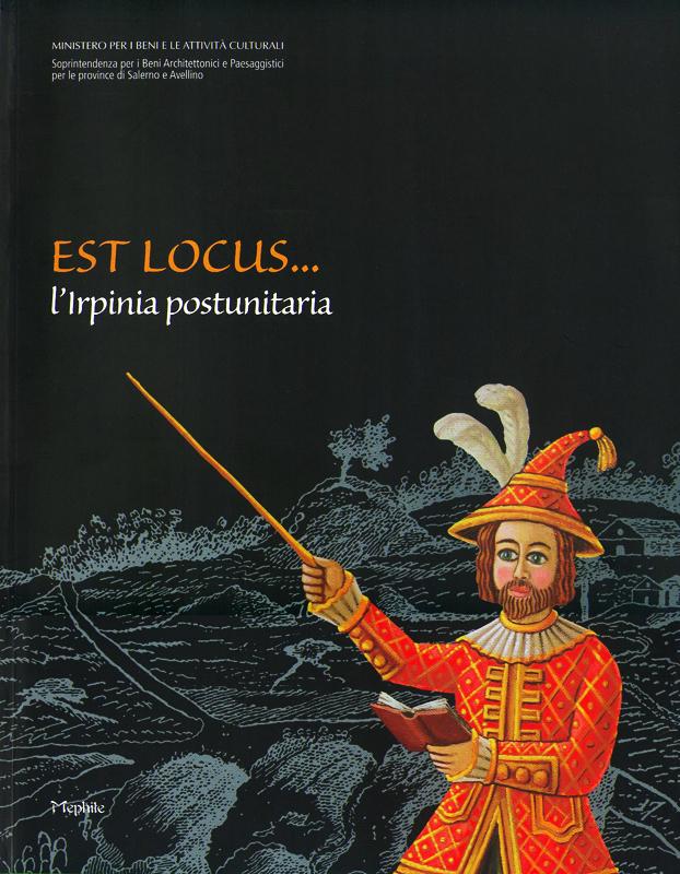 Locandina per Allestimento Scenografico ed Espositivo per la Mostra: Est Locus…