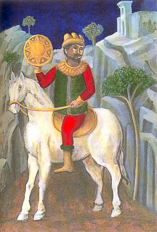 Fiabe Campane, 1994 Tavola Olio su tela cm 50x70 2