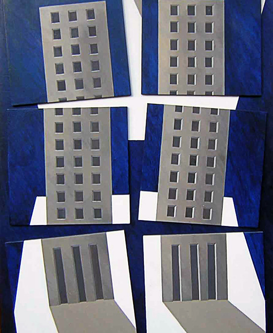 In ricordo della tragedia delle Twin Towers di New York.