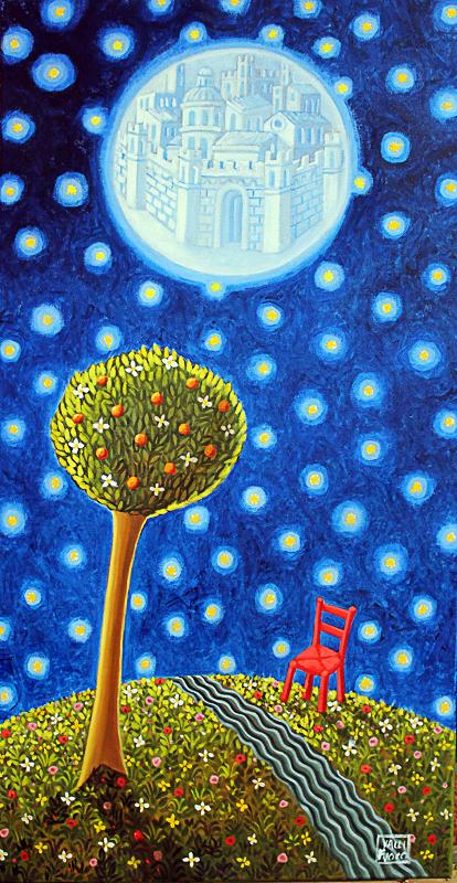 Sublime 2010 olio su tela cm 40x80