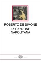 """copertina libro """"La canzone Napolitana"""""""