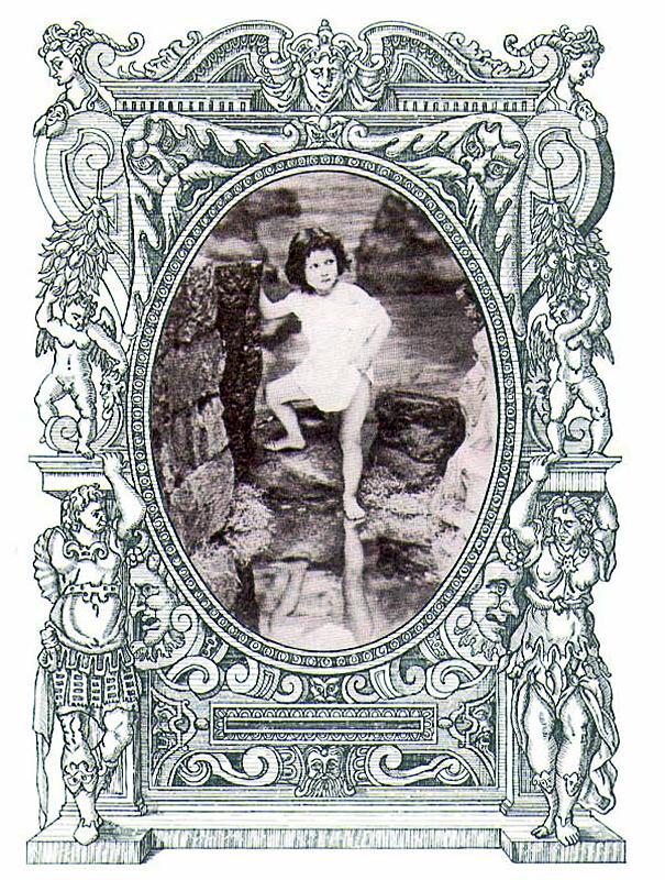 Il Pentamerone o lo cunto de li cunti, 2002 di Gian Battista Basile nella riscrittura di Roberto De Simone, tavola a penna ad inchiostro liquido e foto d'epoca ritoccata, cm 30x40