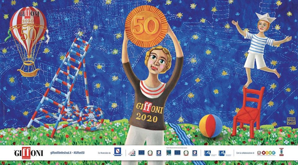 Iniziate a sognare con noi: la prima immagine dedicata a #Giffoni50 è firmata dall'artista Gennaro Vallifuoco!